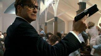 Kingsman: Seht Colin Firths epischen Kirchen-Fight in exklusivem Video!