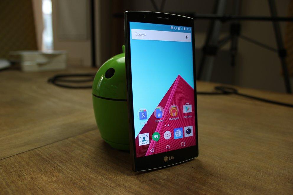 LG-G4-Test-stehend-Display-seitlich