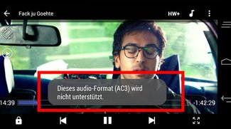 MX Player-Lösung: Kein Ton / Sound mehr beim Video-Abspielen