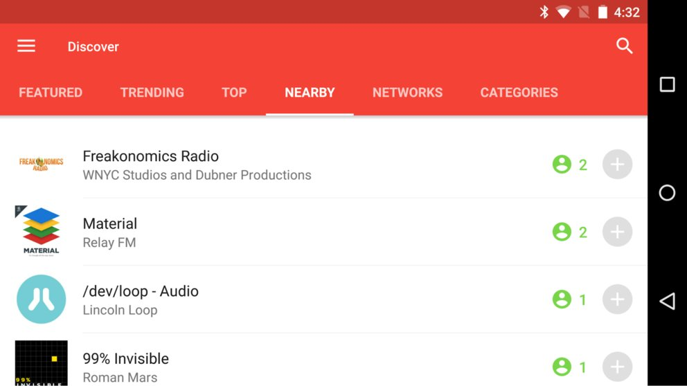 Nearby-Pocket-Casts