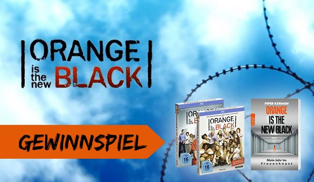 Gewinnt zum Release von Orange Is the New Black Staffel 1 & 2 auf Blu-ray