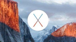OS X El Capitan und OS X Yosemite erhalten Sicherheitsupdates