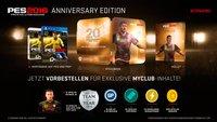 PES 2016: Anniversary Edition mit exklusiven myClub-Inhalten