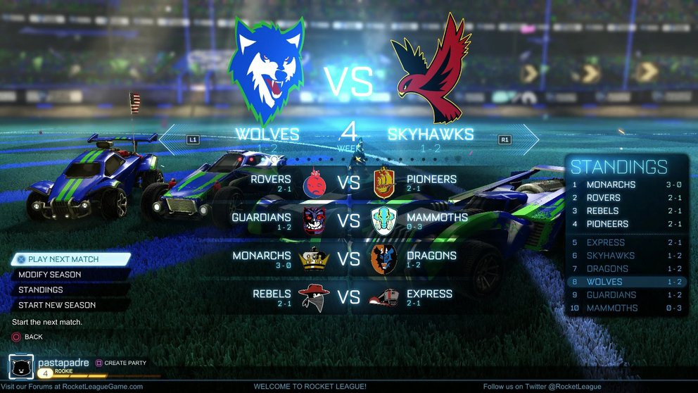 Rocket-League-Rangliste-saison