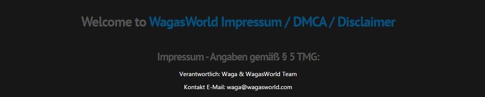wagasworld legal?