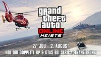 GTA 5: Doppelte Belohnung für Online-Heist
