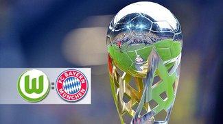 Fußball-Supercup: FC Bayern München - VfL Wolfsburg im Live-Stream und TV heute bei ZDF