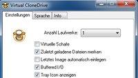 Mit Virtual CloneDrive virtuelle Laufwerke erstellen