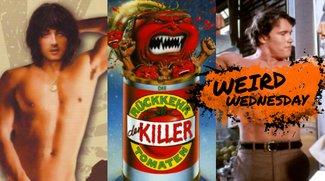 Pornos, Pleiten & Peinlichkeiten: Die Anfänge von Arnie, Stallone & Co.