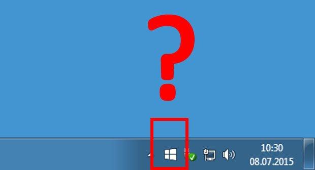Windows-10-Logo fehlt in Taskleiste – So reserviert ihr trotzdem das Upgrade