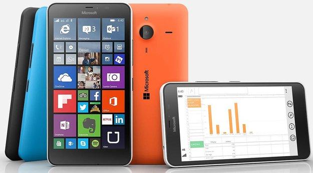 Windows 10 Mobile nur für Smartphones mit 8 GB Speicher und mehr