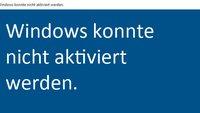 Lösung: Windows 10 lässt sich nicht aktivieren – Fehler 0xC004F061, 0xC004C008, 0xc004c003, 0xC004FC03, 0xC004C4AE