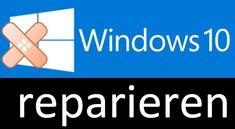 Windows 10 reparieren mit Bord-Programmen DISM und SFC