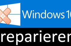 Windows 10 reparieren mit...