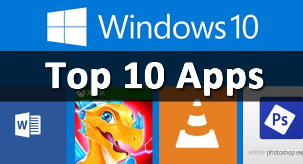 Windows 10 top 10 apps store