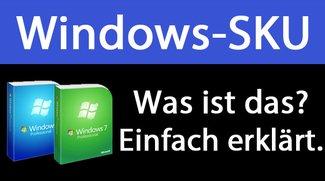 Windows-SKU: Was bedeutet das? Einfach erklärt