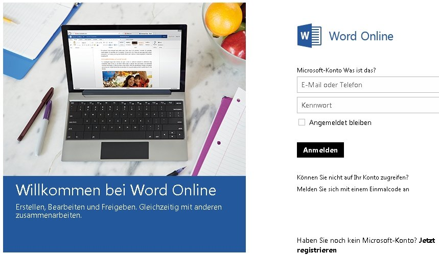 Word-online-Login