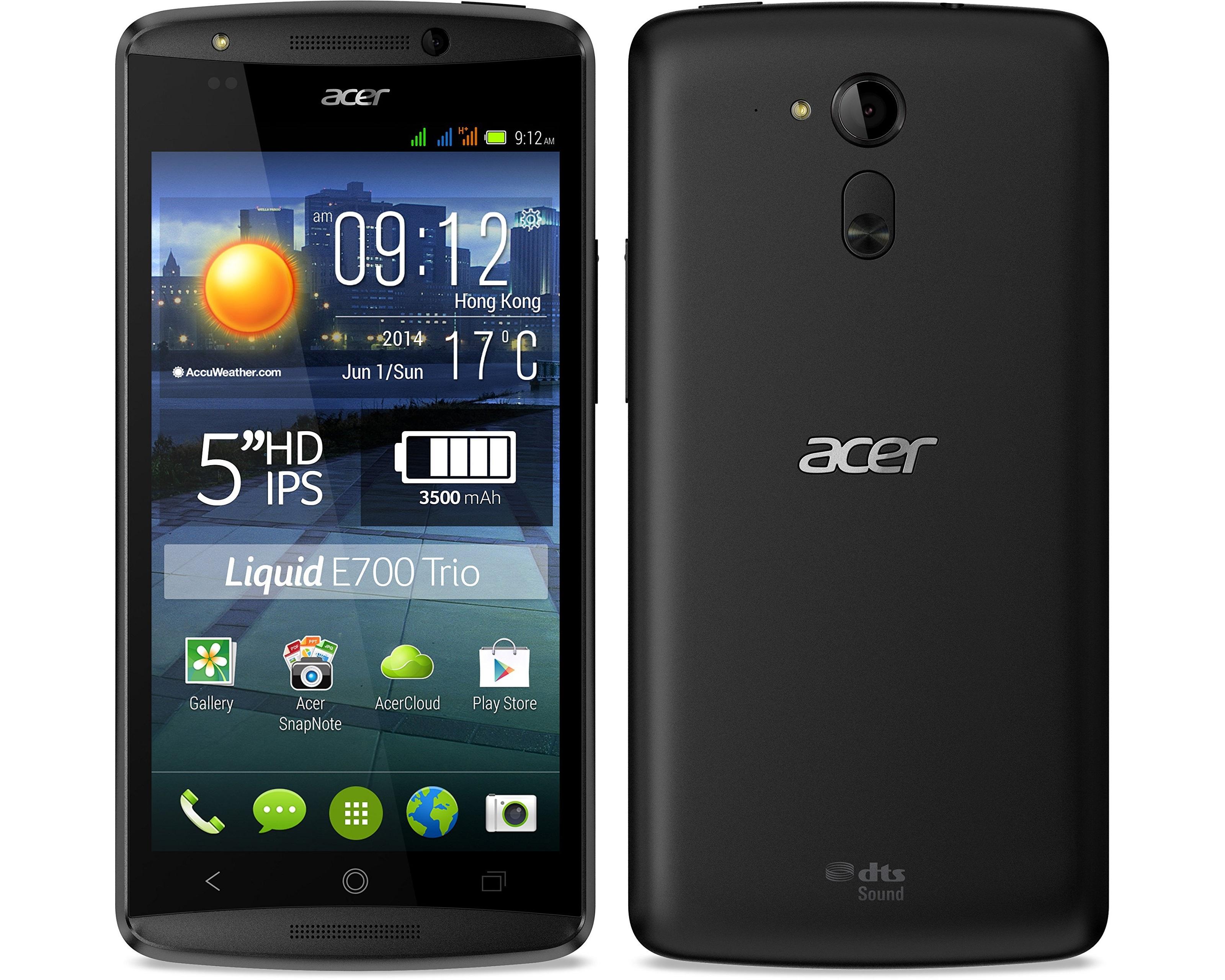 Tri SIM Smartphone von Acer