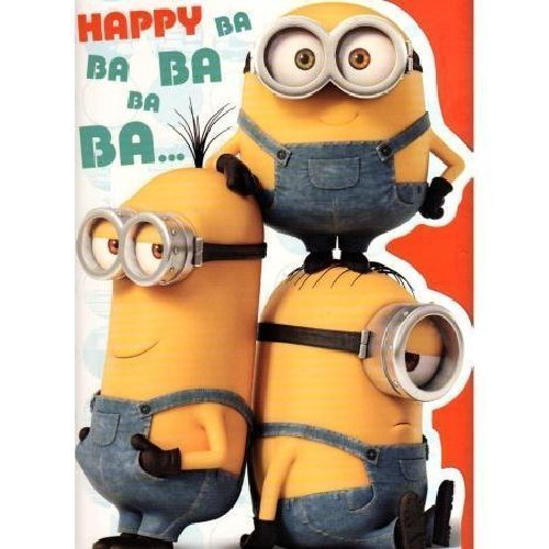 Minions: Happy Birthday! Songs, Gifs, Wallpapers