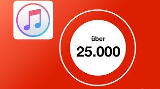 Apple Music: Eigene Mediathek darf maximal 25.000 Titel enthalten