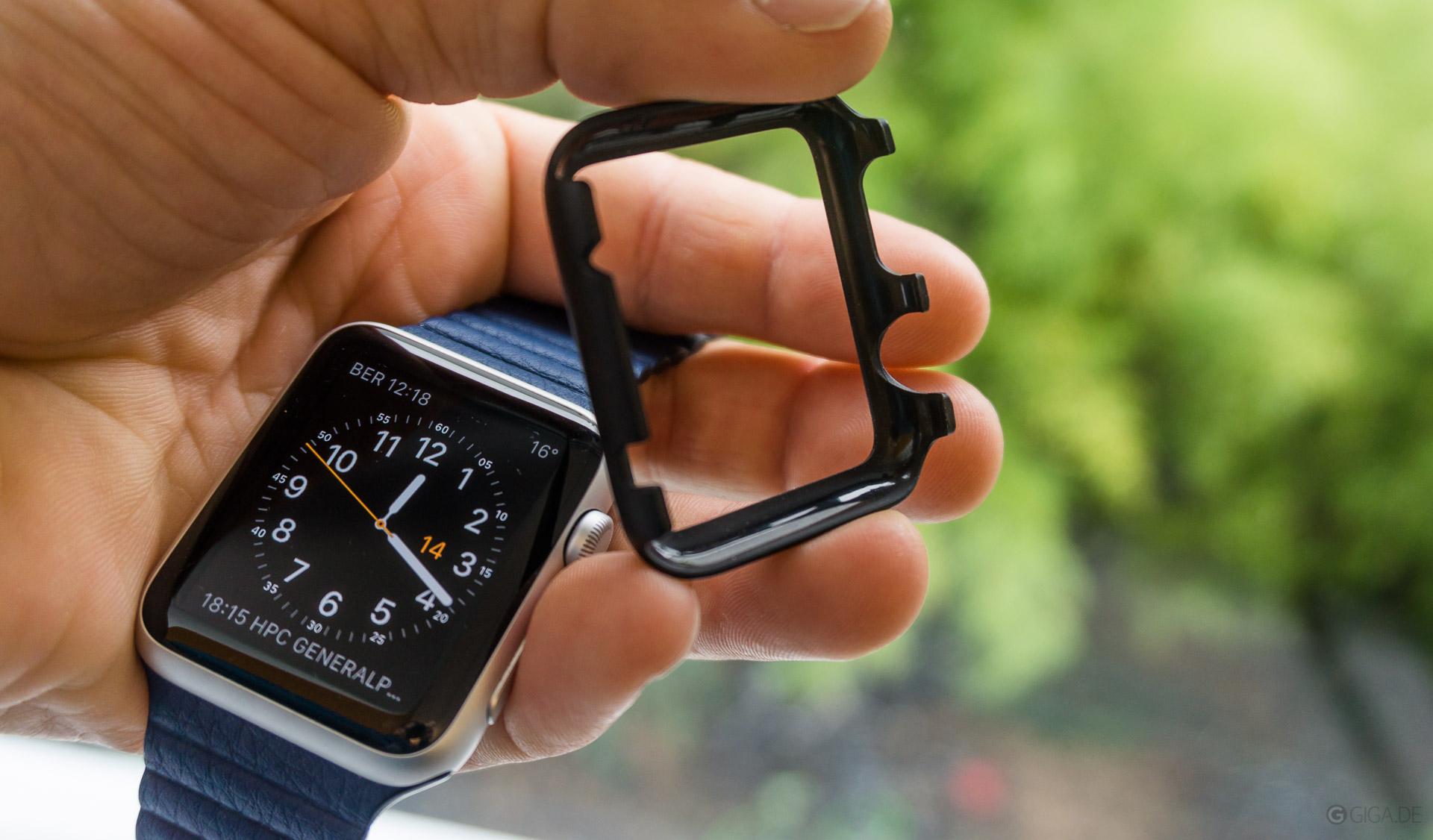top design fa3f2 72150 Apple Watch-Case von Spigen: Kratzschutz für besondere Anlässe ...