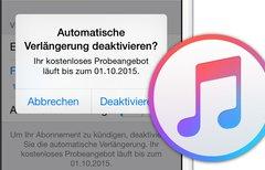 Apple Music: Automatisch...