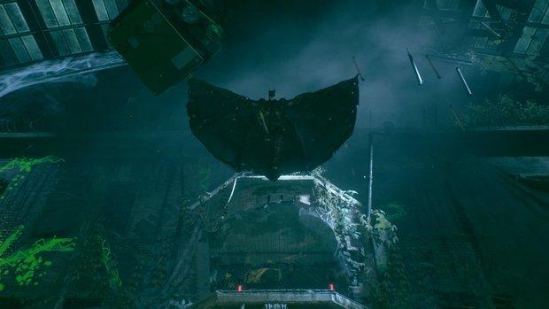 Batman - Arkham Knight: Herrscher der Straße - Karte mit Fundorten zu allen Miliz-Stützpunkten