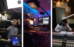 Backstage bei Beats 1 Radio: ...