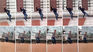 Bullet-Time auf dem iPhone: Matrix-Effekt mit kollaborativer Foto-App