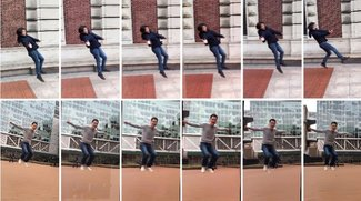 Bullet-Time auf dem iPhone: Matrix-Effekt mit kollaborativer Foto-App