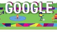 Eröffnungsfeier der Special Olympics World Games 2015 im Stream - ein inklusives Doodle feiert mit