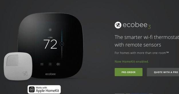 Ökobiene hört auf Siri: Smarter Thermostat mit HomeKit-Anbindung startet in Apple Stores
