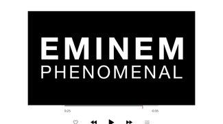 """Exklusives Debut auf Apple Music: Eminem-Kurzfilm zur neuen Single """"Phenomenal"""""""