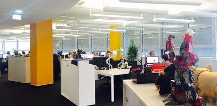 Neues Büro: Hier arbeiten die GIGA-Redakteure für euch