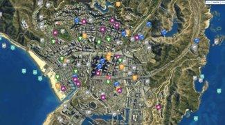 GTA 5: Interaktive und umfassende Karte für iOS, Android und PC