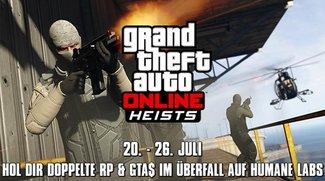 GTA 5: Mehr RP und Dollar für Online-Heist