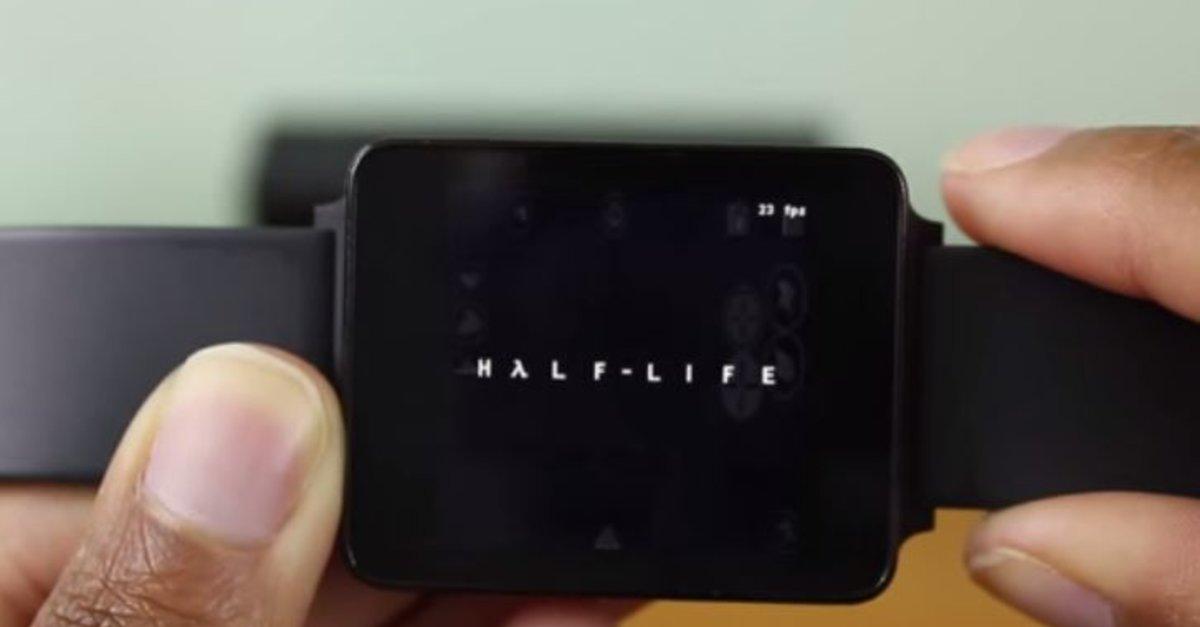 half life auf der smartwatch valve klassiker auf lg g watch portiert giga. Black Bedroom Furniture Sets. Home Design Ideas