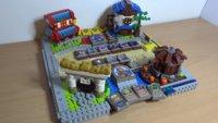 Hearthstone: Spielfeld und Karten komplett mit Lego nachgebaut