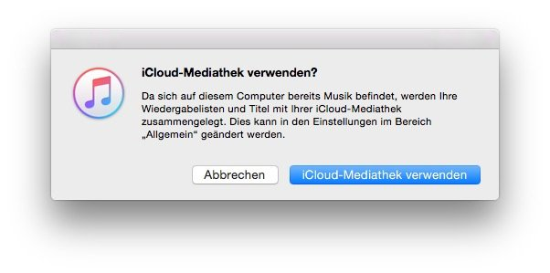 iCloud-Mediathek-Apple-Music