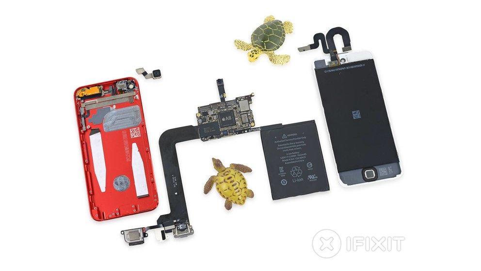 iFixit zerlegt neuen iPod touch: 1 GB RAM und etwas größerer Akku im Inneren
