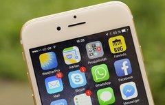 Abgetaucht: iPhone 6...