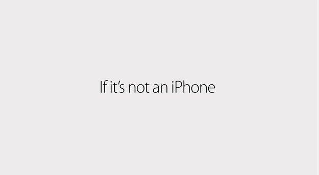 """Apple zeigt neue iPhone-6-Spots: """"Wenn's kein iPhone ist, dann ist es kein iPhone"""""""
