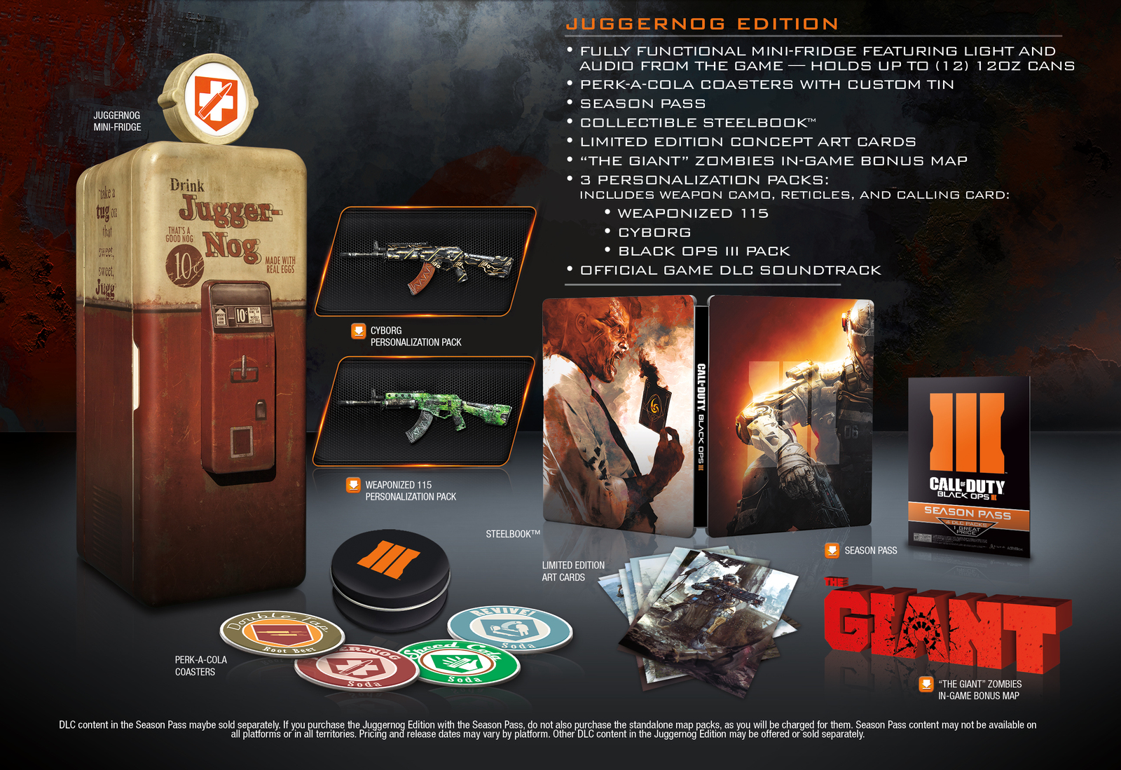 Kühlschrank Cola Design : Call of duty u2013 black ops 3: kühlschrank in collectors edition u2013 giga