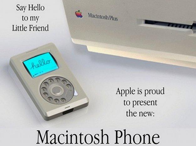 """""""Ich habe 1984 für Steve Jobs das Mac Phone gezeichnet"""" (Ex-Apple CEO John Sculley)"""