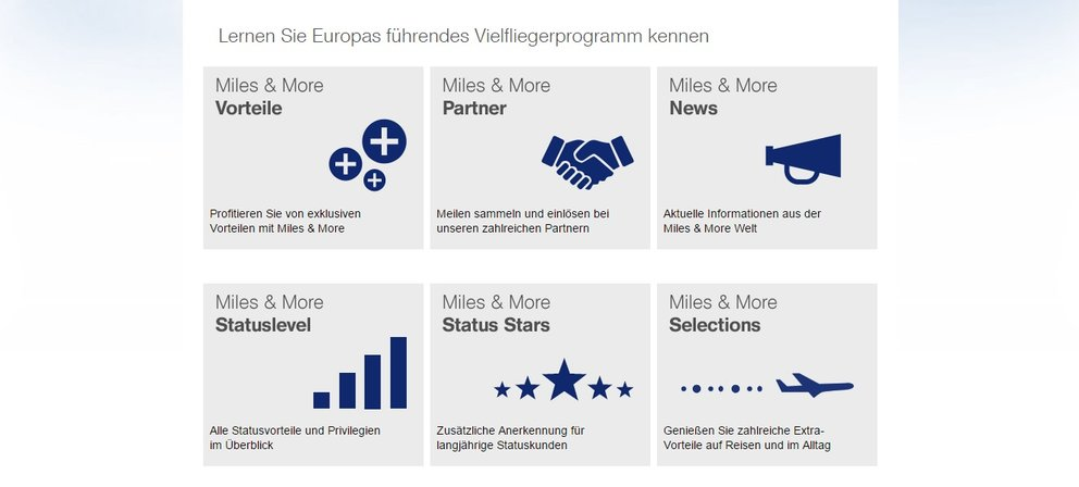 miles and more lufthansa angebot