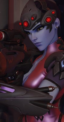 overwatch widowmaker portrait
