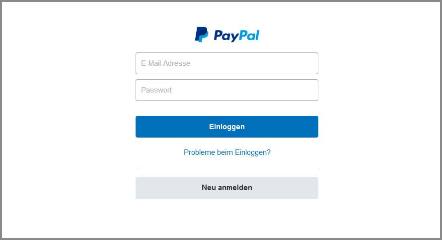 Pay Pal.De Einloggen