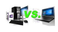 Laptop oder PC – Was ist besser? Tipps & Kaufberatung