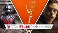 GIGA FILM Podcast #40: Die Emmys, Ant-Man und Mr. Robot