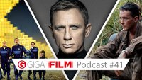 GIGA FILM Podcast #41: James Bond Spectre, Fargo & Pixels